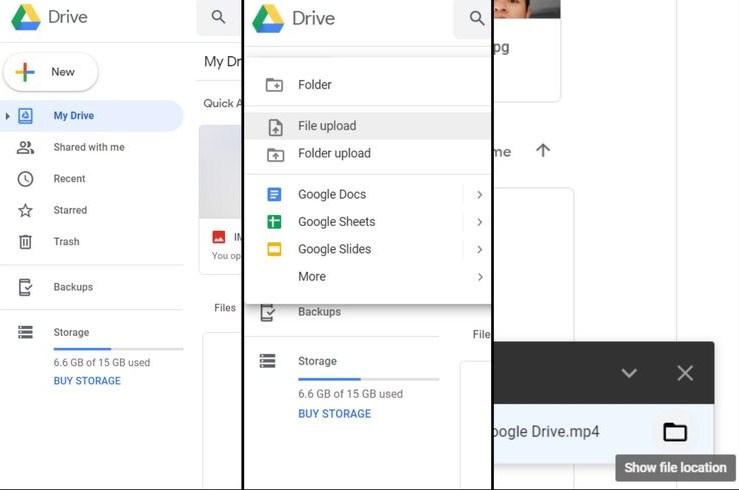 share file di google drive