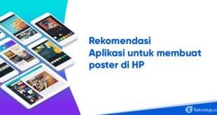 4 aplikasi untuk membuat poster di hp