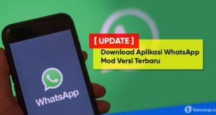 Download Aplikasi WhatsApp Mod Versi Terbaru