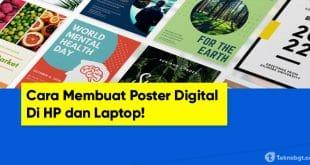 cara membuat poster di HP copy