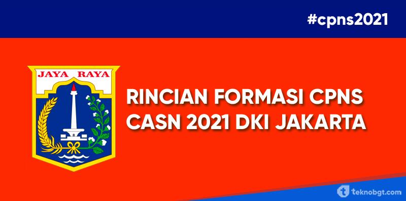 CPNS 2021 - Rincian Formasi ASN Untuk Wilayah Pemprov DKI ...