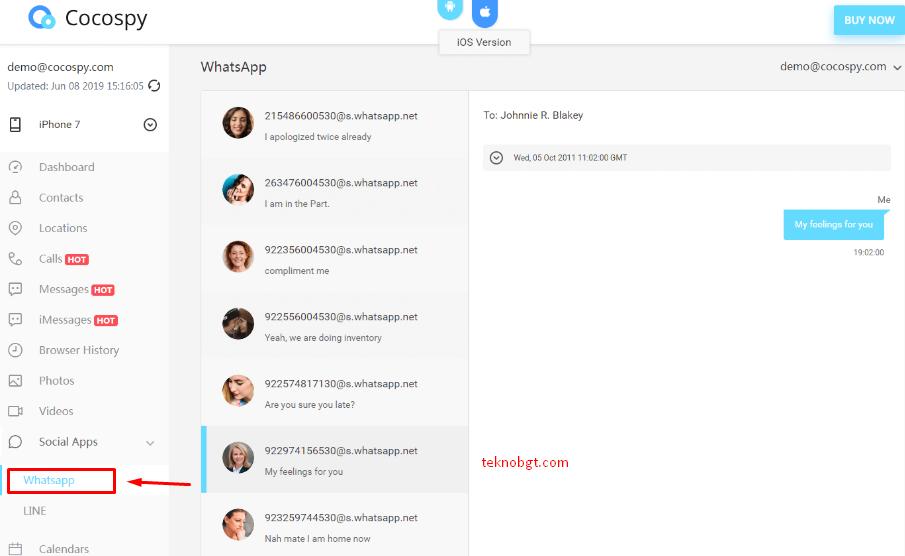 aplikasi cocopsy bisa sadap whatsapp dan line