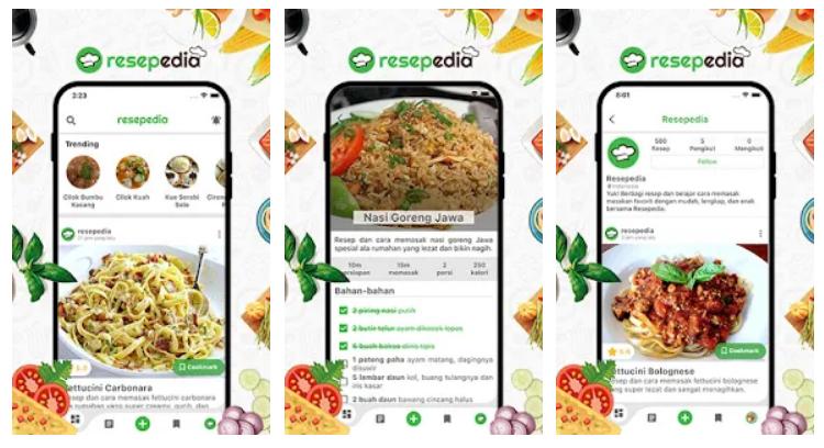 resepedia app