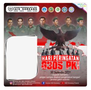 twibbon G30S PKI IAIS Soreang by Darris Yuspratama