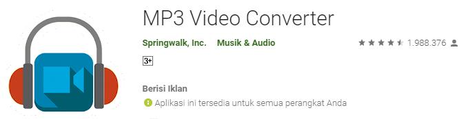 MP3 Video Converter By Springwalk Inc copy