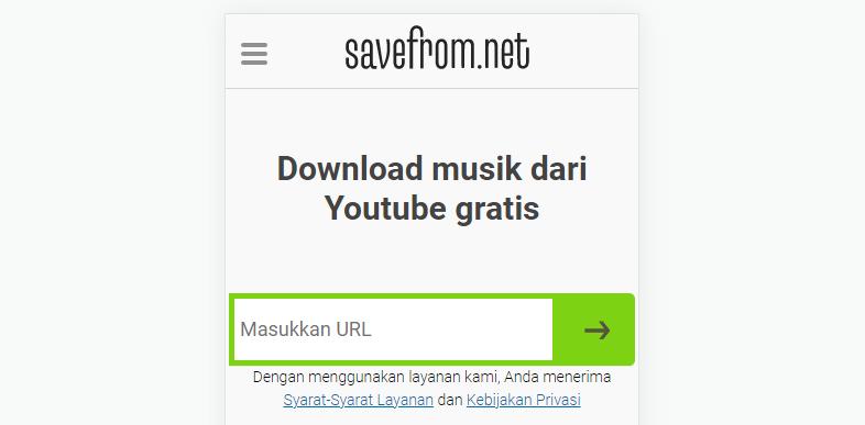 converter youtube to mp3 tanpa aplikasi tambahan
