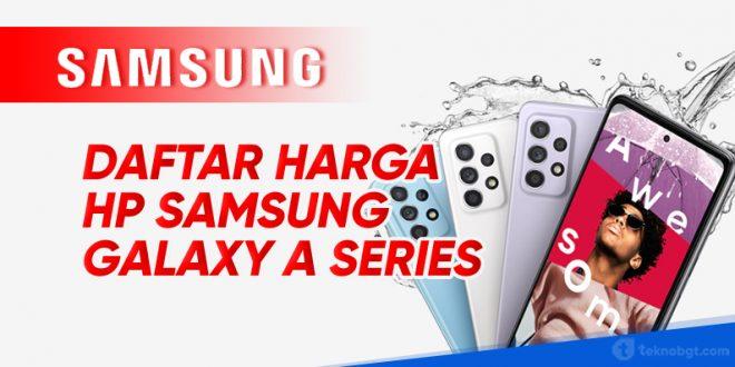 daftar harga hp samsung galaxy A
