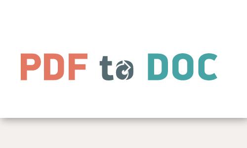 pdf2doc best online converter pdf