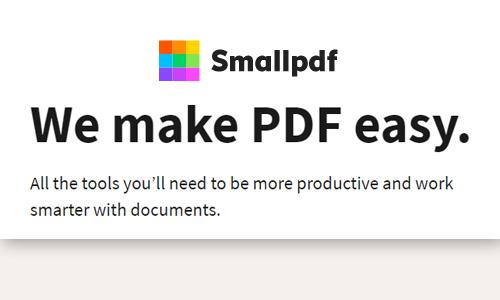 smallpdf best online converter for pdf
