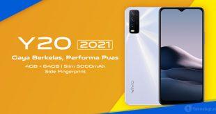 spesifikasi dan harga HP Vivo Y20 2021